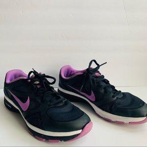 Nike Dual Fusion Black running shoes size 8